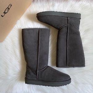 UGG Grey Classic Tall II Boots